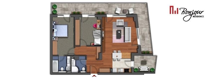 Vezi apartamentele cu 3 camere disponibile pe etaj