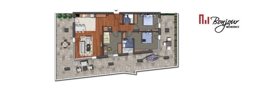Vezi apartamentele cu 4 camere disponibile pe etaj