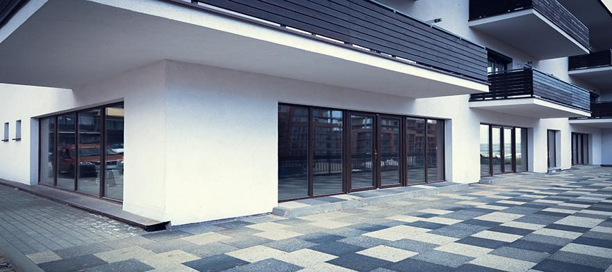 Spatii comerciale in imobilul E6C finalizat cu CF